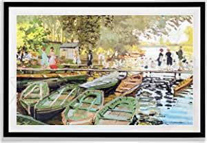 There are 324 le bain decor for sale on etsy, and they cost $23.80 on average. Amazon.com: Monet Wall Art Collection Les bain de la Grenouillere Fine Giclee Prints Wall Art in ...