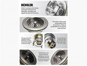 Kohler Kitchen Sink Drain Installation Instructions