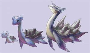 Lapras Family :Fakemon: by rustyyy on DeviantArt