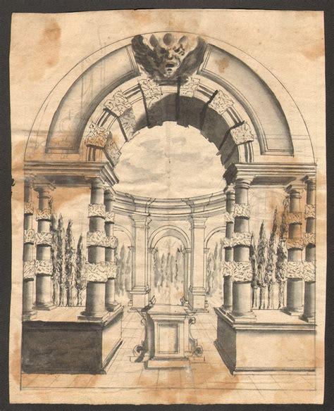 Progetto Di Scenografia  Anonimo 1700 Architettura