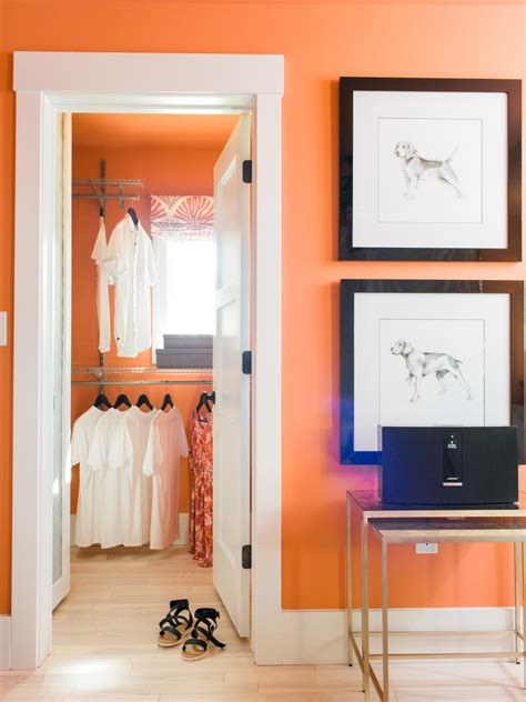 Bedroom In Closet by 10 Steps To A Decluttered Closet Hgtv