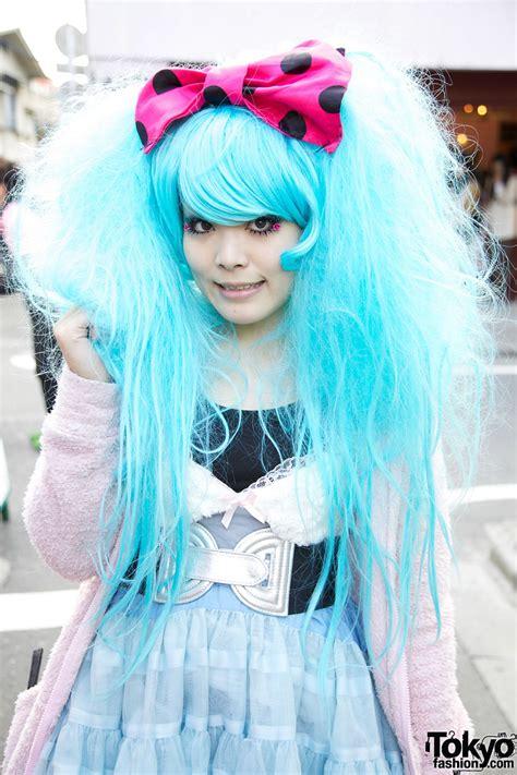 Hair And Blue by Blue Harajuku Hair Pink Hair Bow Tokyo Fashion News