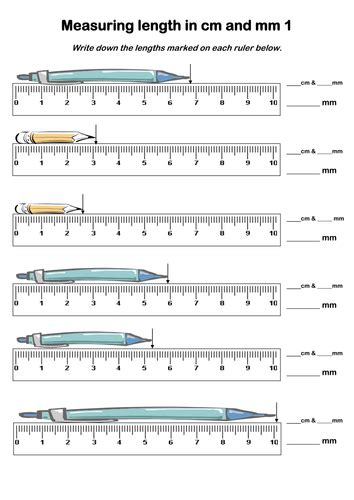 measuring in centimeters worksheet year 4 measures by davidhowes1977 teaching resources tes
