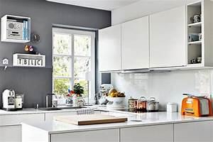 Kleine Schmale Küche Einrichten : k che ideen f r die k chengestaltung sch ner wohnen ~ Sanjose-hotels-ca.com Haus und Dekorationen