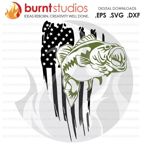 Some american flag svg may be available for free. Digital File, USA Flag, United States of America, Bass ...