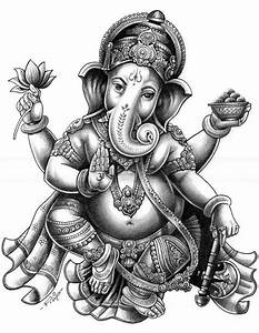 11 Ganesha Tattoo Designs, Ideas And Samples