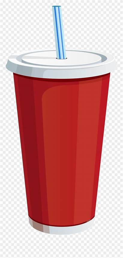 Soda Cup Drink Clipart Plastic Soft Drinks