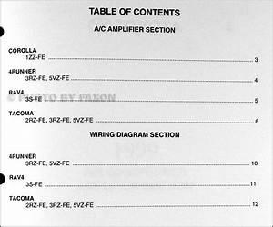 1998 Toyota Rav4 Wiring Diagram Manual Original 24882 Getacd Es