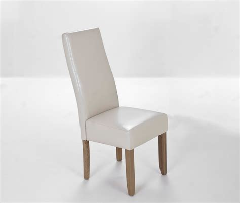 recouvrir des chaises beliani chaise de salle à manger en cuir empire beige