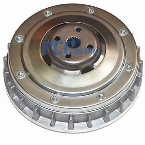 Yamaha Grizzly 660 4x4 Primary Dry Clutch Sheave Assembly Cvt Ct21
