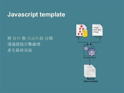Javascript Template Javascript Template React Js 初探