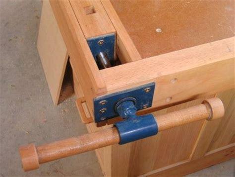 homemade vise hardware  acme threaded rod