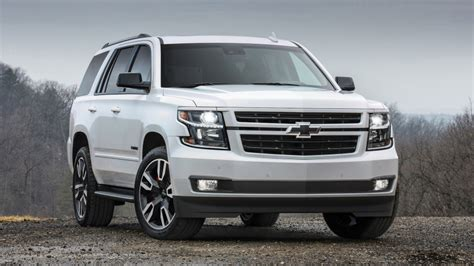 2018 Chevy Tahoe Rst Gets A 420-horsepower 6.2-liter V8