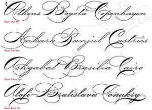 Fancy Cursive Fonts | Using P22's Zaner Pro, anyone can ...