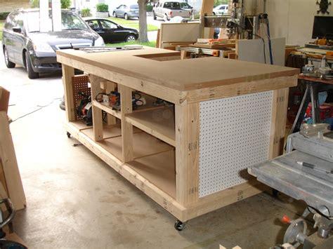 garage workshop ultimate workbench