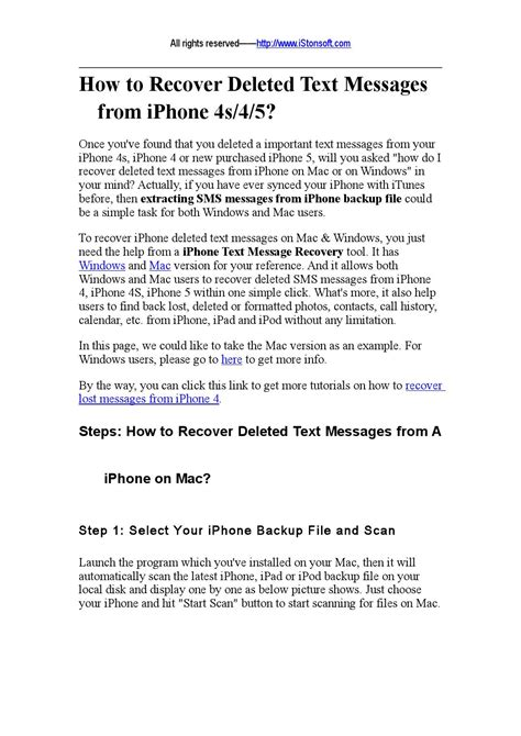 how to retrieve deleted texts from iphone 5s how to recover deleted text messages from iphone 5 by 1307