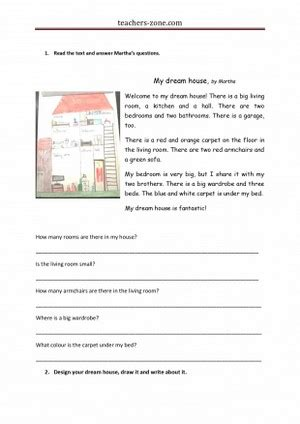 dream house lesson plan teachers zone blog