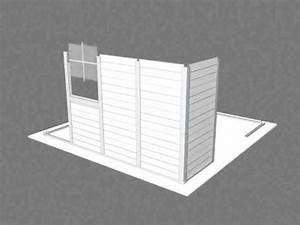 video montage abri jardin pvc grosfillex chez france abris With abri de jardin pvc grosfillex
