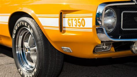 Ford Shelby Gt350 Muscle Car
