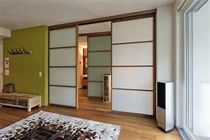 Ideen Für Raumteiler : clevere raumgestaltung ideen mit schiebet ren als raumteiler ~ Markanthonyermac.com Haus und Dekorationen