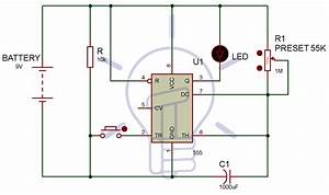 1 To 15 Minute Timer Circuit Diagram  Working And Applications
