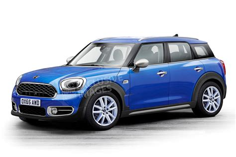 New Mini Countryman Shaping Up For 2016  Auto Express