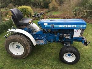 Ford 1210 Tractor 2wd