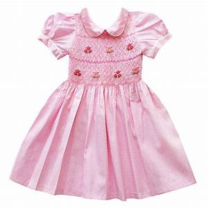 bibikovna robe vichy rose pale With robe vichy rose