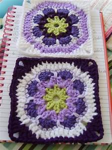 African Flower Granny Square  U22c6 Crochet Kingdom