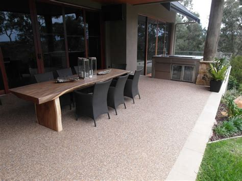 Outdoor Patio Flooring ? A Long Lasting Solution   Eco Grind