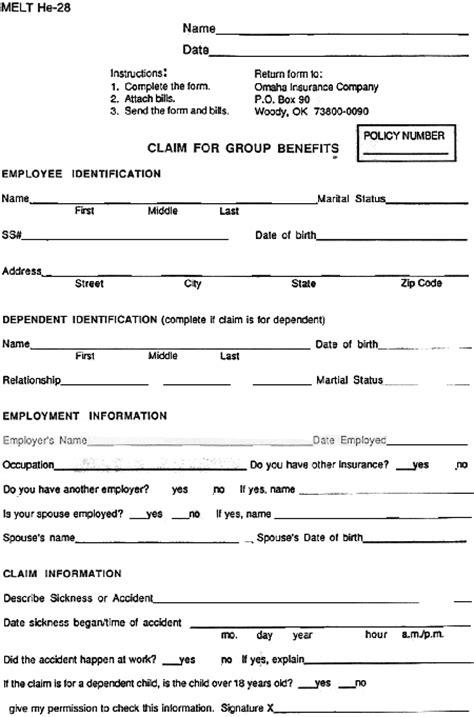 medical insurance verification form template templates