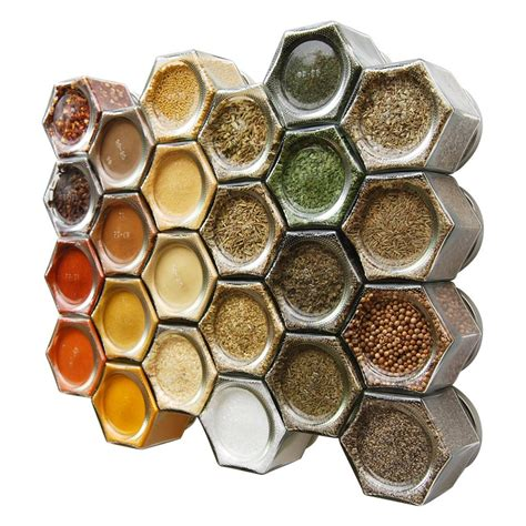 Filled Spice Rack Cheap by Gneiss Spice Everything Spice Kit 24 Magnetic Jars Filled