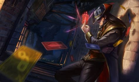Twisted Image Twisted Fate League Of Legends