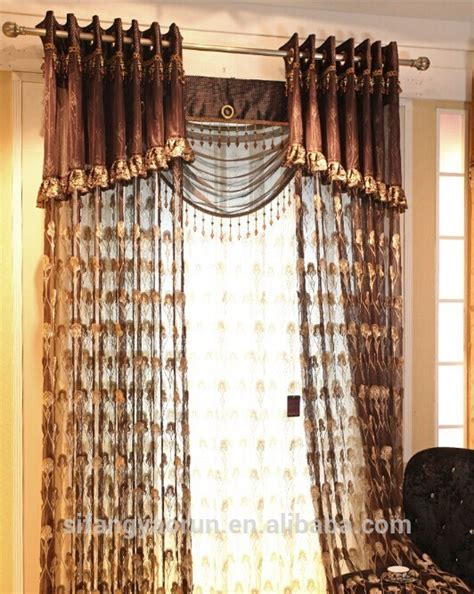 new design custom curtains and drapes with luxury curtain