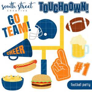 Football Tailgate Party Clip Art