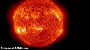 Live Soho Sun Images  Crazy Sunspot Activity