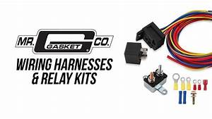 Mr  Gasket Wiring Harness And Relay Kits