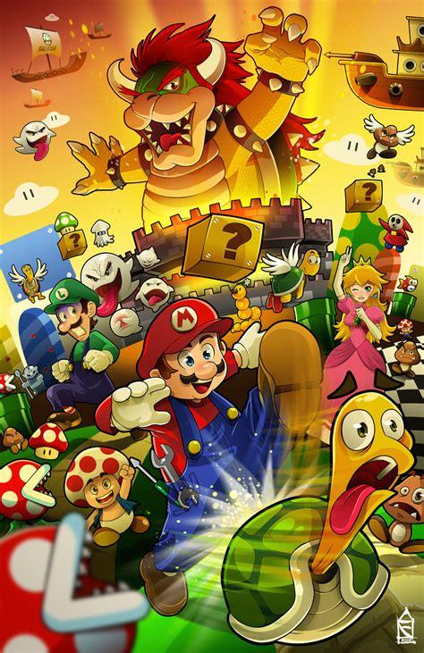 Super Mario Fanart By Zehb On Deviantart