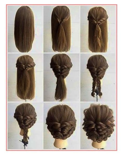 Tendance Tuto Coiffure Cheveux Bouclés   Idees Coiffure