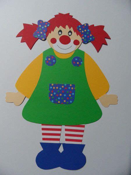 basteln fasching vorlagen die besten 25 clown basteln ideen auf karneval basteln fasching basteln kinder und