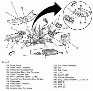 1999 Cadillac Escalade Engine Diagram