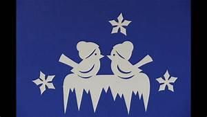 Basteln Winter Vorlagen : weihnachtsbasteln tiere animals basteln v gel im winter filigran youtube ~ Watch28wear.com Haus und Dekorationen
