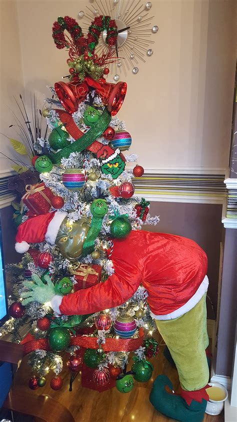 christmas themes ideas the grinch tree kitchen with my 3 sons