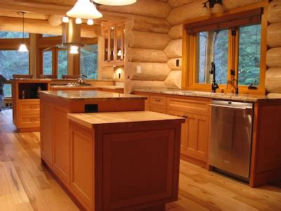 log home kitchen cabinets 17 best images about modern log homes on cabin 7153