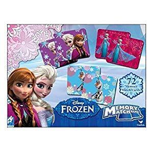 amazoncom disney frozen memory card game word search