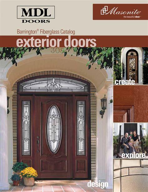 barrington fiberglass brochure  mdl doors issuu