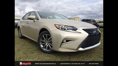 lexus es  hybrid review youtube
