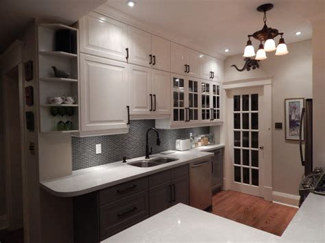 Ikea Kitchens  Lidingo Gray And White With Stacked Wall