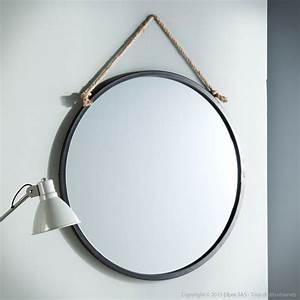 Miroir Rond à Suspendre : les 10 meilleures images du tableau miroirs sur pinterest ~ Teatrodelosmanantiales.com Idées de Décoration