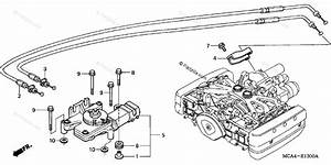 Honda Motorcycle 2004 Oem Parts Diagram For Reverse Shift Actuator